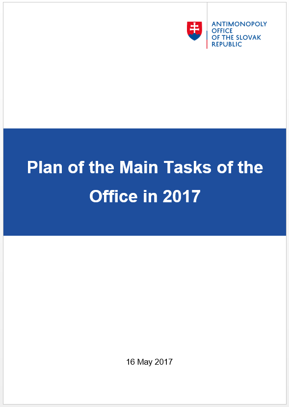 Plan of the Main Tasks in 2017